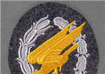 Luftwaffe Paratrooper Jump Badge Cloth