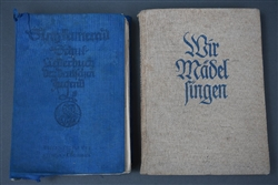 Original Third Reich Jugend Liederbuch (Youth Song Book) Set