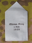 Un-Issued 1939 Iron Cross 2nd Class Issue Envelope