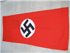 Original German WWII Double Sided National Flag/Banner