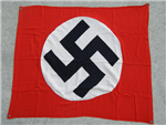 Original German WWII One Sided Vehicle Identification Flag