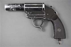 Original German WWII Early Walther Leuchtpistole 34 With Banner Logo Post War Used & De-Nazified