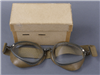 Original German WWII Un-Issued Flight/Motorcycle Goggles With Box