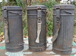 Original German WWII Un-Issued M38 Gasmask Canister