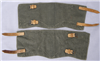 Original German WWII Un-Issued Heer/Waffen SS Mid/Late War Gamashen (Gaiters)