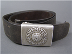 Original German WWII Heer (Army) Combat Worn Belt & Buckle