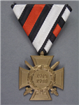 Original Third Reich World War I Honor Cross (Hindenburg Cross)