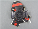 Original Third Reich World War I Honor Cross (Hindenburg Cross) For Next Of Kin Pin