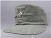 Original German WWII Heer M43 EM Fieldgray Wool Cap Size 58 RB Numbered