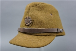 Original Japanese WWII Enlisted Mans/NCO Civil Defense Unit Wool Hat