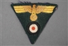 Unissued Original German WWII Kriegsmarine Coastal Artillery Officers Cap Eagle And Cockade Trapezoid