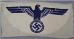 Original German WWII Kriegsmarine Sports Shirt Patch