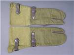 Original German WWII Unissued Motorcycle (Krad) Mittens Size 9 Dated 1942