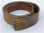 Original German WWI Imperial Army Leather Combat Belt