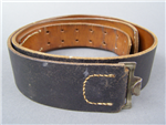 Original German WWII Leather Combat Waist Belt