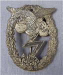 Original German WWII Luftwaffe Ground Assault Badge (Erdkampfabzeichen der Luftwaffe)