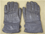 Original German WWII Luftwaffe Gray Fliegerhandschuhe (Flight Gloves) Insulated Short Style