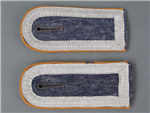 Original Luftwaffe Signals Unterfeldwebel's Shoulder Boards