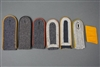 Original German WWII Luftwaffe EM/NCO/Officer Single Shoulder Board Lot With Collar Tab