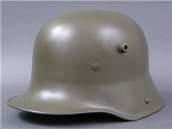 Original German WWI M16 Helmet (Stahlhelm) Size 66 Shell