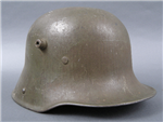 Original German WWI M17 Helmet BF64