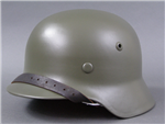 Original German WWII Refurbished M35 Helmet Size 62 Shell