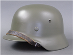Original German WWII Refurbished M35 Helmet Size 64 Shell