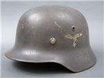 Original Luftwaffe Double Decal M35 Helmet