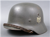 RARE! Original Heer M35 Reissued Double Decal Helmet