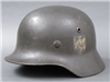 Original German WWII Heer Reissued M35 Ex Double Decal