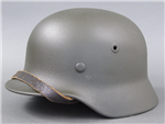 Original German WWII Refurbished M40 Helmet Size 64 Shell
