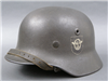 Original M40 Double Decal Combat Polizei (Police) Helmet Size 64