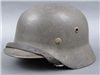 Original German WWII No Decal M40 Helmet Q64