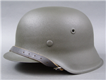 Original German WWII Refurbished M42 Helmet Size 68 Shell