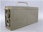 Original German WWII Aluminum MG34/42 Ammunition Carrying Box