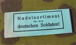 Original WWII German Wehrmacht Issue Needle Packet