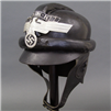 Original Third Reich NSKK 2nd Pattern Leather Motorcycle/Crash Helmet