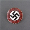 Original NSDAP Party Member Lapel Badge