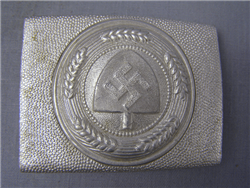 Original German WWII Reich Labor Service Belt Buckle