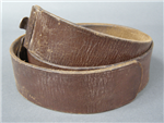 Original German WWII Sturmabteilung (SA) Brown Leather Belt