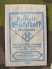 Original German WWII Era Blue/White Packet of Saccharin