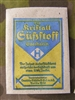 Original German WWII Era Blue/Yellow/White Packet of Saccharin