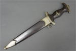 Original Very Early SS EM Dagger With Anodized Scabbard By Carl Eickhorn