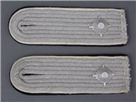 MINT Unissued! Original Waffen SS Obersturmführer's Infantry Shoulder Boards