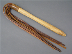 Original German WWII Barracks Uniform Cleaning Whip