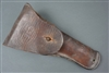 Original US WWI Model 1916 Leather Holster For 1911 Pistol Made by Warren Leather Goods & Dated 1918
