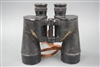 Original US WWII 7x50 Binoculars Made By Bausch & Lomb
