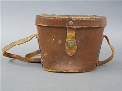 Original US WWII WWII M17 Leather Binoculars Case