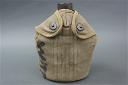 Original US WWII Canteen Dated 1942, 1943 & 1944