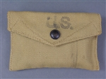 Original US WWII M1942 Field Dressing British Made Pouch With Field Dressing